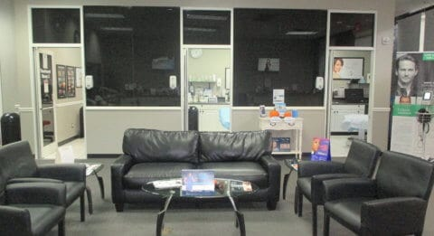 Interior of Complete Laser Clinic Asheville