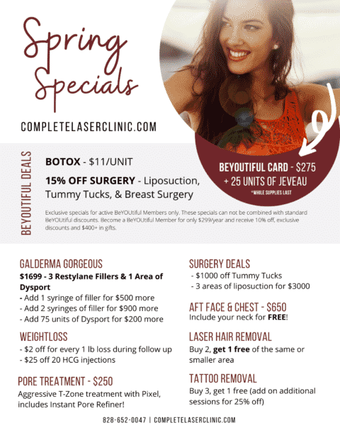 Complete Laser Clinic Specials